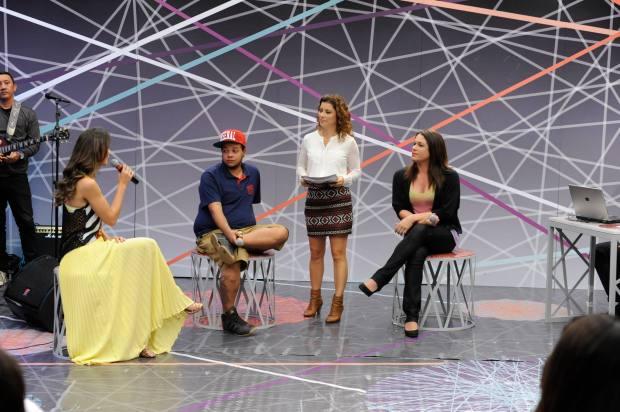 Debate com Lia Sophia, Marcelo Caetano e Sammy Larrat. Fotógrafo: Luis Gustavo