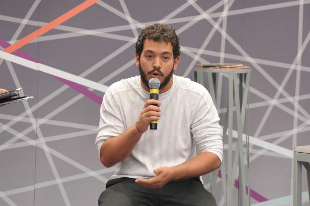 O cientista político convidado, VITOR DE LIMA, é um dos mais jovens membros da Comissão da Verdade do Rio de Janeiro Foto: Luis Macedo